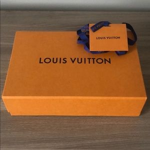 Brand new Louis Vuitton box